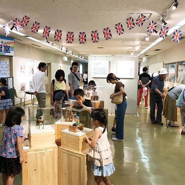 広島市こども文化科学館でのオートマタ展が始まって1週間。連日たくさんのお客さんが来てくれていてとても嬉しいです。どうもありがとうございます!