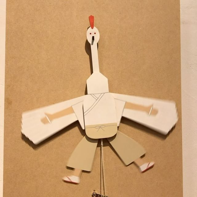 山口鷺の舞人形、9月2日発売です。よろしくお願いします。#幕末維新やまぐちデスティネーションキャンペーン #山口DC