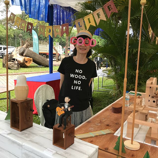 World Wood Day in Cambodia has just started!カンボジアでのワールドウッドディが始まりました。#worldwoodday