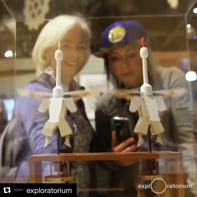 "#Repost @exploratorium・・・It's Tuesday—LET'S DANCE! #ContraptionTuesday⠀⠀We're featuring incredible automata sculptures from our #CuriousContraptions winter exhibition every Tuesday! This week's spotlight goes out to ""Heron Dance"" from Japanese-born Kazu Harada! Pro-tip: You can meet Harada at the Exploratorium this month. He's our Curious Contraptions Artist-In-Residence now through December 15—catch him while you can! Get tickets with link in bio.  Want more Curious Contraptions? You can find more behind the scenes moments from the floor in our IG stories.⠀⠀Kazu Harada began making automata as a hobby. In 2006, he wrote to British automata maker Matt Smith asking if he could be his apprentice. Matt replied that the workshop was too small to have help but that Harada could certainly visit. So Harada traveled to Falmouth, England, and proceeded to visit Matt every single day. His pursuit paid off—he not only met numerous artists, he got the chance to hone his techniques working as part of Matt's Fourteen Balls Toy Company."