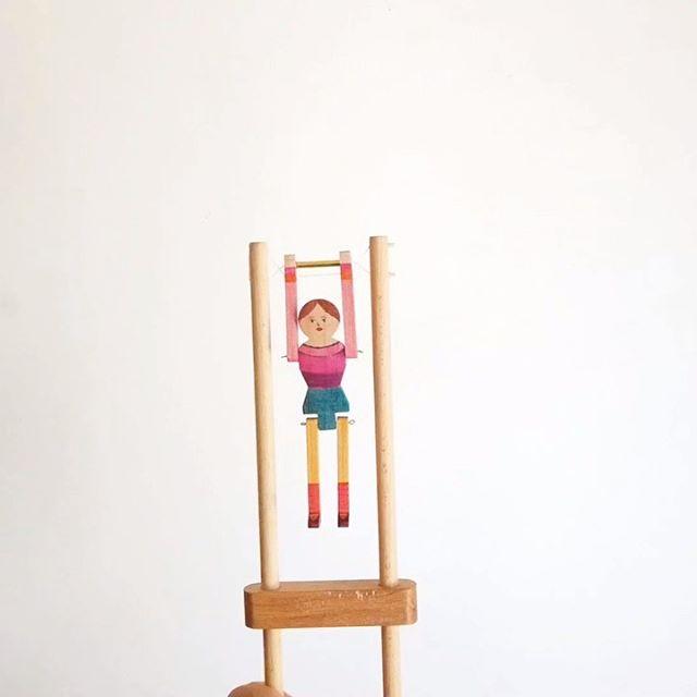 来年2月に渋谷区の景丘の家でさせていただくワークショップのサンプルが完成しました!オリンピックイヤーと言うことで、体操人形。ワークショップの詳細については景丘の家からお知らせがあります。どうぞお楽しみに!